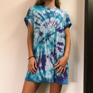 DIY tie dye dress